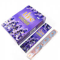 Благовония Life Lavender Darshan 20шт/уп. Аромапалочки Лаванда (30665)