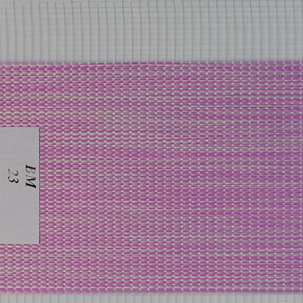 Рулонні штори День-Ніч Тканина Женева ВМ-23 Бузковий