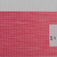 Рулонные шторы День-Ночь Ткань Женева ВМ-24 Красный