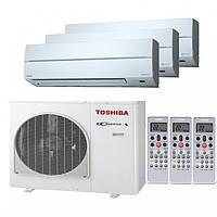 Наружный блок для мультисплитсистем Toshiba RAS-3M18S3AV-E