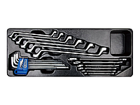 Набор инструментов в лотке 21 пр. King Tony 9-90121MR