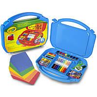 Набор для творчества Crayola в синем чемоданчике 85 предметов