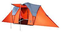 Кемпинговая шестиместная палатка туристическая Pavillo Camp Base, 610х240х210см, Трехслойная!!!