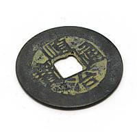 Старинная монета d-2,5см (4428)