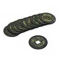 Старинные монеты связка 10шт d-2,5см (4457)