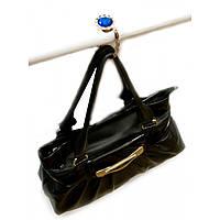 """Вешалка для женской сумочки со стразами """"Кристалл"""" (23684)"""