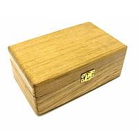 "Шкатулка ""Кружева"", массив дерева 20,5х12,5х8см (29154)"