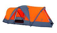 Кемпинговая четырехместная палатка туристическая Pavillo Traverse, 480х210х165см, Двухслойная!!!