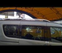 Рейлинги Crown на Fiat Doblo New