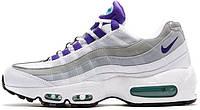 Мужские кроссовки Nike Air Max 95 QS white/purple