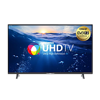 "Телевизор Hyundai Smart TV 55"", LED, 4K Ultra HD, CMP 800 Hz, DVB-T/T2/C/S/S2, 2xHDMI, 2xUSB, Wi-Fi ULS55TS298"