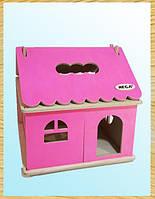 Кукольный домик цветной, HEGA