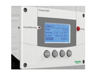 Панель управления Schneider Conext System Control Panel