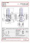 Гидроцилиндр с крышкой Binotto MFC 187-5-7050 (фронтальный), фото 2