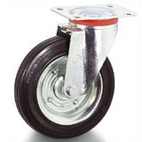 Колеса с поворотным кронштейном 200мм