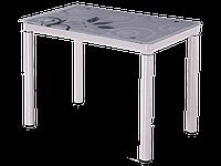 Стол обеденный стеклянный DAMAR  80×60 Signal  белый