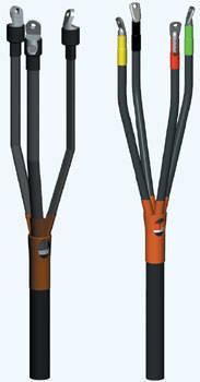 Муфта кабельная концевая 4ПКВТпН-1 35/50, 0,4-1 кВ внутренней установки, фото 2