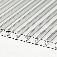 Поликарбонат сотовый SANEX, 6000х2100х4, прозрачный