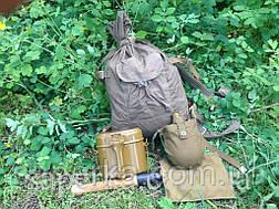 Мужской подарок  СССР 5 предметов  (малая пехотная лопата,вещмешок,армейский котелок,фляга,чехол СССР), фото 3