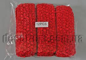 Повязка красная для ручной работы 40мм  1шт