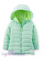 Carter's Куртка на девочку, Зеленая Мята, 0-24