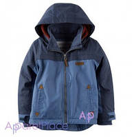 Carter's Куртка на флисе на мальчика, синяя 0-24
