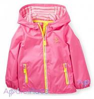 Carter's Куртка розовая для девочки, Неон