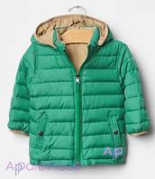 Gap Куртка зеленая 2 в 1 на мальчика, 0-24