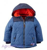 Carter's Куртка голубая на мальчика, Puffer Jacket 0-24
