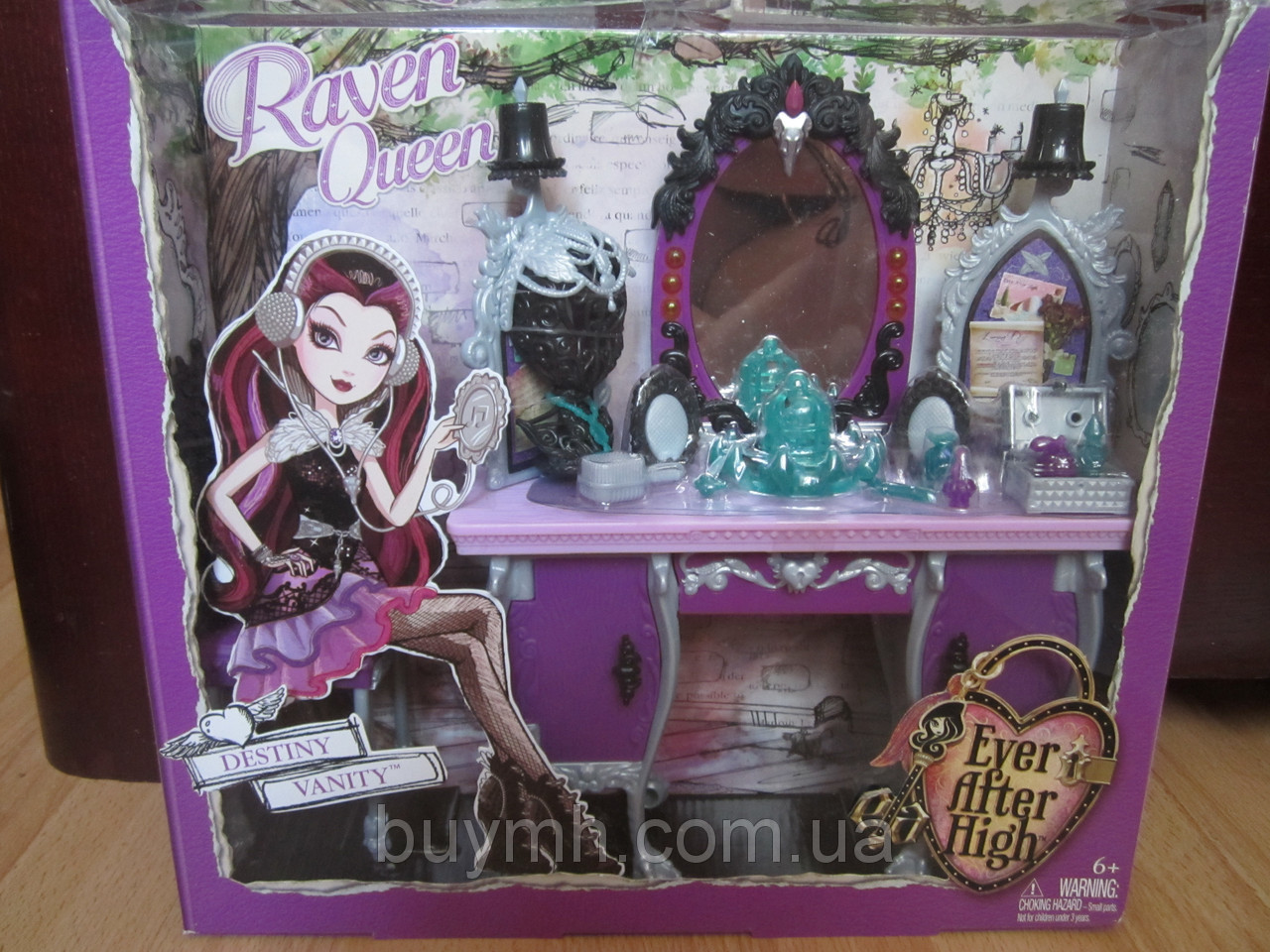 Туалетный столик Рейвен Квин Ever After High Getting Fairest Raven Queen Destiny Vanity Accessory, фото 1