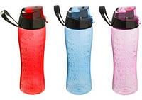 Бутылка спортивная Herevin Abc 650мл с петлей для переноса