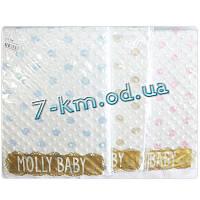 Плед для младенцев Len704 велюр 1 шт (90х90 см)