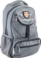 Рюкзак подростковый YES Oxford CA 078 серый 554028
