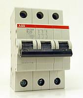 Автоматический выключатель ABB Автоматический выключатель SH 203-B 3п 63A АВВ