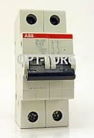 Автоматический выключатель ABB Автоматический выключатель SH 202-B 2п 63A АВВ