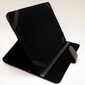 Чехол книжка подставка Crocodile (Черный) для планшетоа 10 дюймов Samsung Xiaomi Lenovo, фото 2