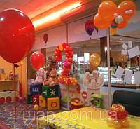 Оформление Дня рождения воздушными шарами в детской комнате