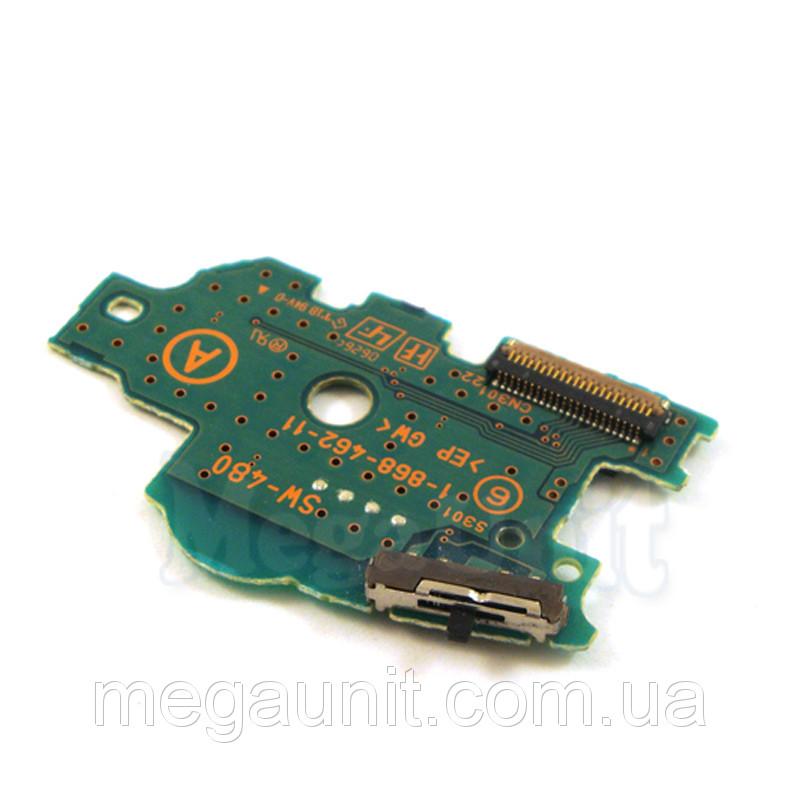 Плата on/off (вкл. и пр. кнопки) Sony PSP 1000 Fat