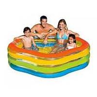 """Надувной бассейн """"Летние краски"""" Intex"""