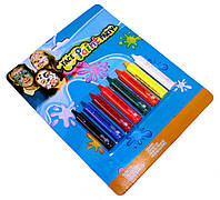 Грим карнавальный (8 цветов/набор), краски для лица