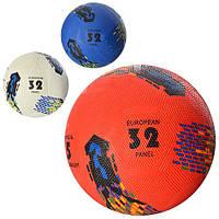 Мяч футбольный, резиновый, 3 цвета, размер 5, вес 350 г (ОПТОМ) VA 0027