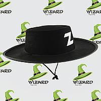 Шляпа Зорро детская