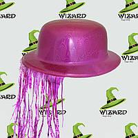 Шляпа Котелок с дождиком