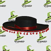 Шляпа Мексиканца черная