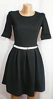 Повседневное модное платье для девушки приталенного покроя