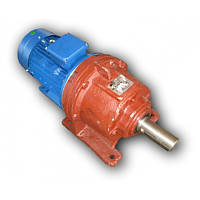 Трехступенчатый планетарный мотор-редуктор 3МП-25-3,55 с электродвигателем 0,12кВт