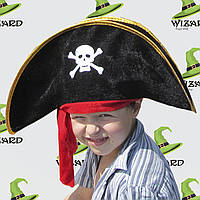 Шляпа Пирата с повязкой детская