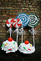 Конфеты, кексы, леденцы, candy для фото, декорации