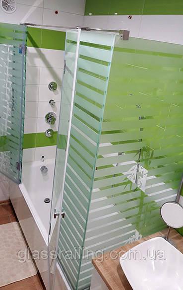 Скляна душова кабінка