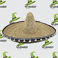 Шляпа Сомбреро с кисточками №2